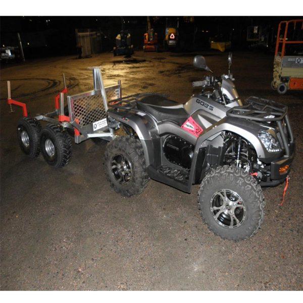 Fyrhjuling cf goes 525
